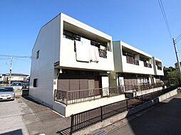 千葉県流山市名都借の賃貸アパートの外観