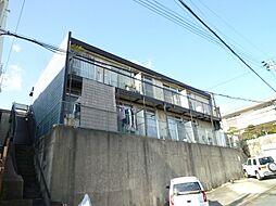 大阪府吹田市藤が丘町の賃貸アパートの外観