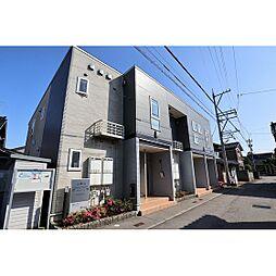 富山県富山市四方荒屋の賃貸アパートの外観