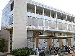 レオパレス輝II[2階]の外観