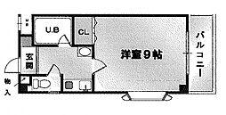 ネオシティ古市[307号室号室]の間取り