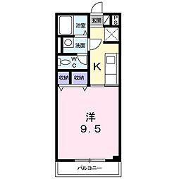 プチ・アロ−ジョ[202号室]の間取り