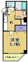 (仮称)此花区梅香新築マンション[4階]の間取り