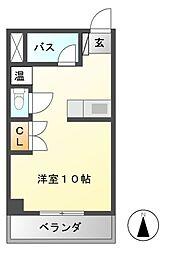 メゾン・オメガ[4階]の間取り