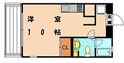 シーフォート香椎浜[4階]の間取り