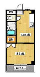 第三藤ビル[3階]の間取り