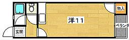 星田マンション[3階]の間取り