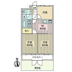 セザール第二青梅 1階