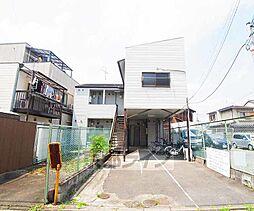 京都府京都市南区東九条東岩本町の賃貸アパートの外観