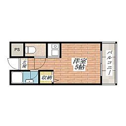 ラポール37[3階]の間取り