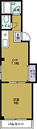ソレイユ3[5階]の間取り