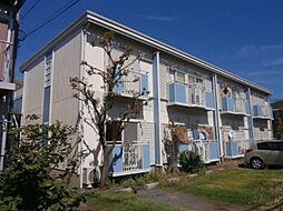 東京都調布市若葉町1の賃貸アパートの外観