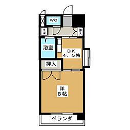 サザン名駅EAST[12階]の間取り