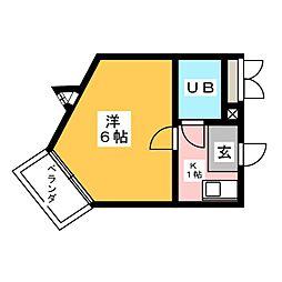 シティライフ高蔵[4階]の間取り