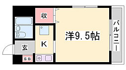 ヴィラいずみ[4階]の間取り