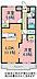 間取り,2LDK,面積54.54m2,賃料6.3万円,JR常磐線 友部駅 バス13分 徒歩4分,,茨城県笠間市旭町276番地