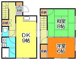 [テラスハウス] 埼玉県新座市新堀2丁目 の賃貸【/】の間取り