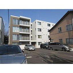 北海道札幌市中央区北一条東12丁目の賃貸マンションの外観