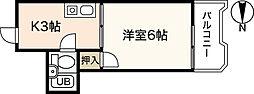 メッド白島[2階]の間取り