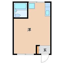 ハイム出屋敷[4B号室]の間取り