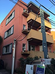 東京都目黒区自由が丘1丁目の賃貸マンションの外観