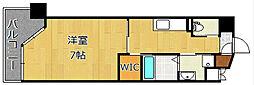 ウィングス重住[3階]の間取り