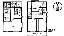 グランバリエ高須台[1階]の間取り