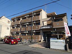 京都府京都市北区衣笠北天神森町の賃貸マンションの外観