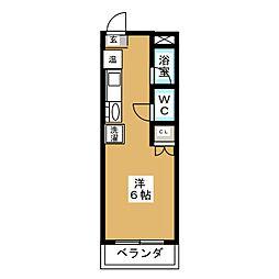 小松マンションYOSHIDA[3階]の間取り