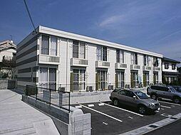 兵庫県神戸市北区藤原台北町3丁目の賃貸アパートの外観