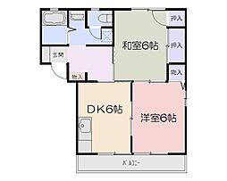 センシリティピカルIA棟[1階]の間取り