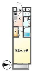 リシュドール鶴舞公園[4階]の間取り