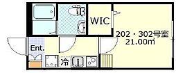 東急東横線 日吉駅 徒歩8分の賃貸アパート