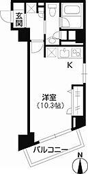 ロワジール三軒茶屋[0303号室]の間取り