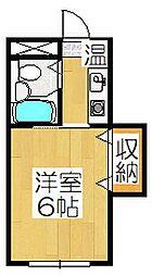 吉水苑[3階]の間取り