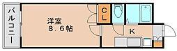シャトー95[4階]の間取り