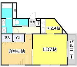 セイコーガーデンV[3階]の間取り