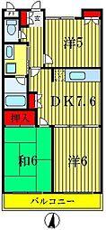 濱島マンション[1階]の間取り