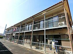千葉県市川市本行徳の賃貸アパートの外観
