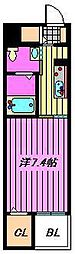 グラン トレゾール[2階]の間取り