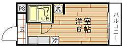 リレイション野田[9階]の間取り