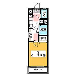 BONDS[4階]の間取り