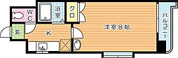 SKcity八幡(エスケイシティ八幡)[10階]の間取り