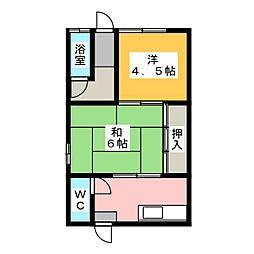 [一戸建] 愛知県稲沢市小池2丁目 の賃貸【/】の間取り