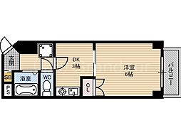 楠青山ビル別館[7階]の間取り