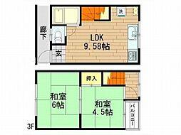 新井ハイツ[1階]の間取り