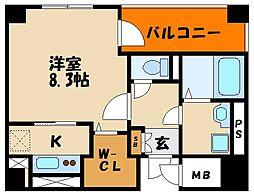 樽屋町マンション[7階]の間取り