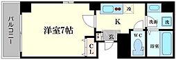ラフォンテ松屋町[8階]の間取り