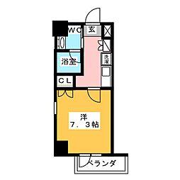 IARIM車道[7階]の間取り