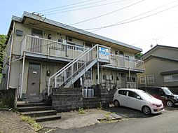 富美山コーポ那須[203号室]の外観